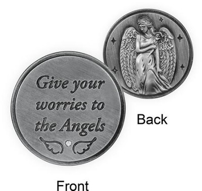 Give Your Worries To the Angels, Pocket Token  -