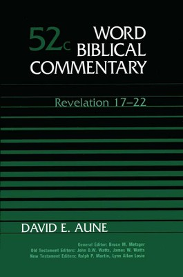 Revelation 17-22: Word Biblical Commentary [WBC]   -     By: David E. Aune