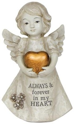 Always & Forever In My Heart Mini Angel  -