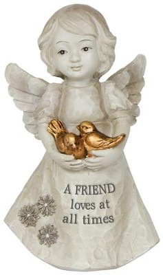 Our Friendship is the Perfect Blend Mini Angel  -