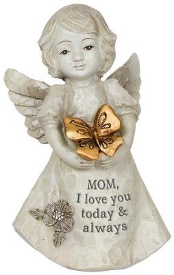 Mom, I Love You Today & Always Mini Angel  -