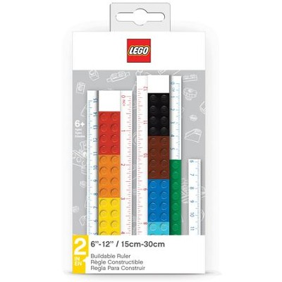 LEGO Buildable Convertible Ruler  -