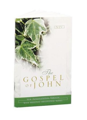 The NIV Gospel of John: With Devotional Notes - eBook  -