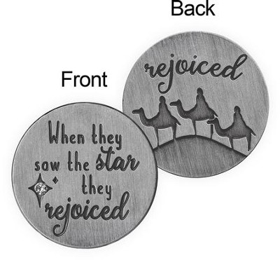 When They Saw the Star, They Rejoiced Pocket Token  -