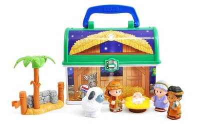 Fisher-Price Little People On-the-Go Nativity Set   -