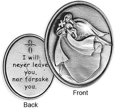 I Will Never Leave You Pocket Token  -