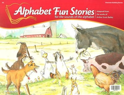 Abeka K5 Alphabet Fun Stories   -