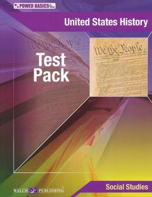 Power Basics United States History Tests   -