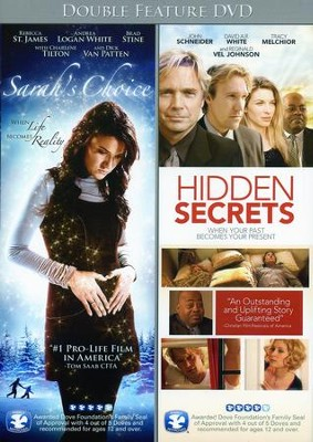 Sarah's Choice/Hidden Secrets, Double Feature DVD   -