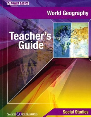 Power Basics World Geography Teacher's Guide   -