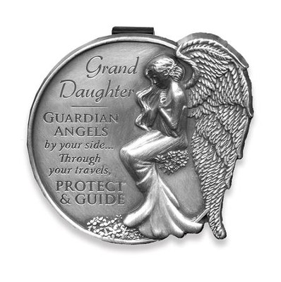 Guardian Angel Visor Clip, Granddaughter  -