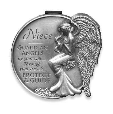 Guardian Angel Visor Clip, Niece  -