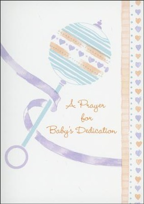 Promise the Lord Baby Dedication Cards, Box of 12  -