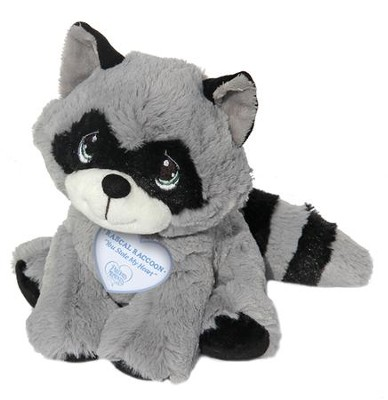 a5d877fa410d Precious Moments, Rascal Raccoon Plush - Christianbook.com