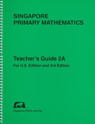 Singapore Math Primary Math Teacher's Guide 2A   -