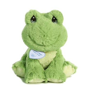 Ribbit Frog Plush, Jumpin' For Joy  -