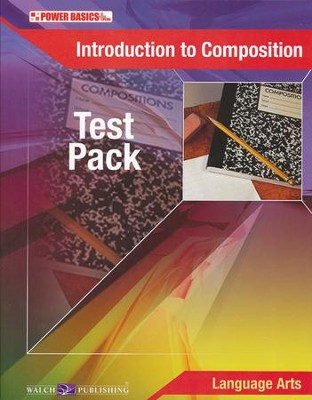 Power Basics Introduction to Composition Tests   -