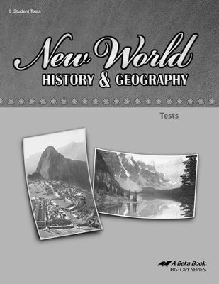 Abeka New World History & Geography Tests   -