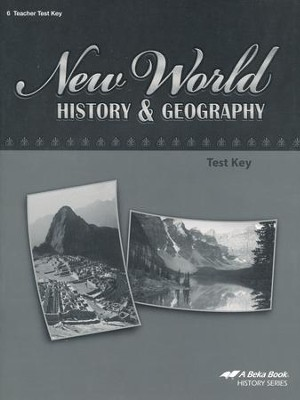 Abeka New World History & Geography Tests Key   -