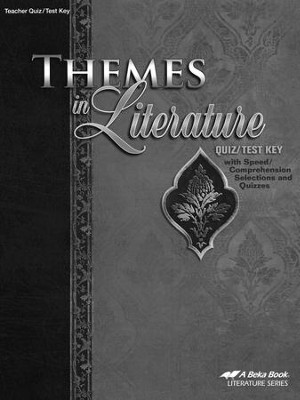 Abeka Themes in Literature Quizzes & Tests Key   -