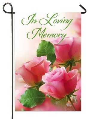 In Loving Memory Flag, Small  -