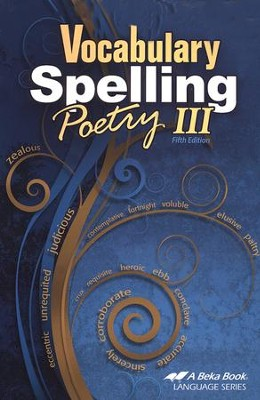 Vocabulary, Spelling, & Poetry III   -