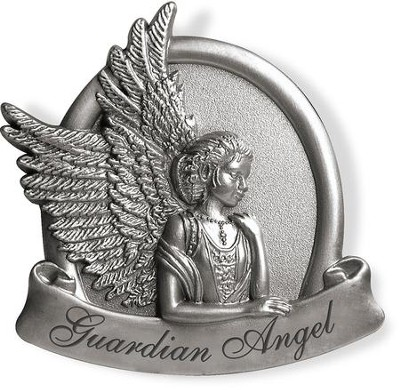Peaceful, Guardian Angel Visor Clip  -