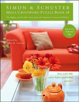 Simon & Schuster Mega Crossword Puzzle Book #8  -