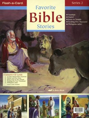 Abeka Favorite Bible Stories 2 Flash-a-Card Set   -