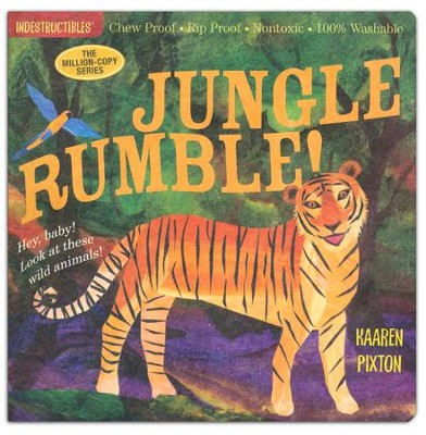 Indestructibles: Jungle Rumble!  -     By: Amy Pixton