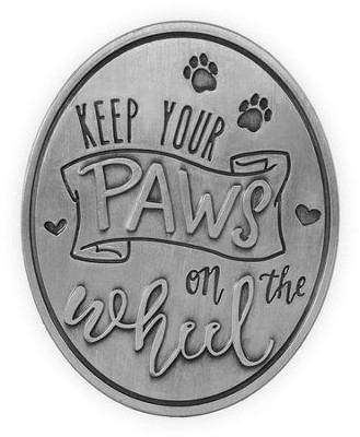 Keep Your Paws On the Wheel, Visor Clip  -