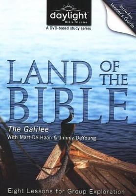 Land Of the Bible: The Galilee, DVD with Leader's Guide    -