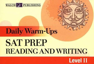 Daily Warm-Ups: SAT Prep Reading and Writing Level 2  - Slightly Imperfect  -
