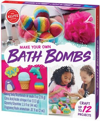 Make Your Own Bath Bombs  -