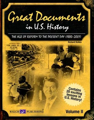 Great Documents in US History, Vol. 2: 1880-2001   -
