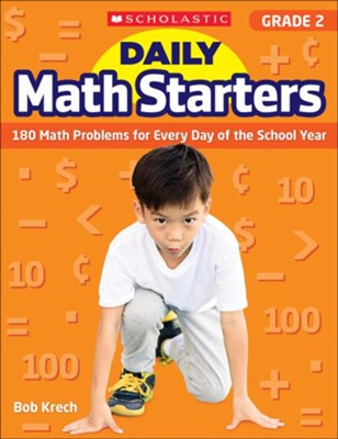 Daily Math Starters: Grade 2: 180 Math Problems for Every Day of the School Year  -     By: Bob Krech