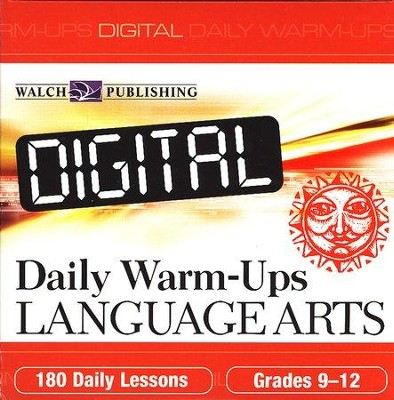 Digital Daily Warm-Ups Language Arts, Grades 9-12   -