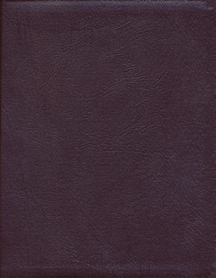 NKJV Hebrew-Greek Key Word Study Bible Genuine Leather Burgundy with thumb index  -