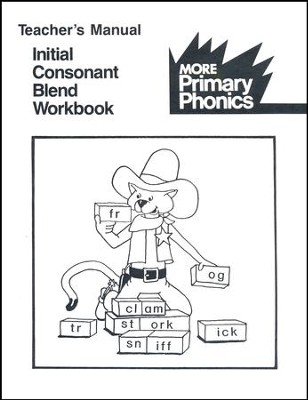 Initial Consonant Blend Teacher's Manual   -     By: Barbara W. Makar