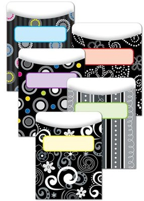 BW Collection Library Pockets (Pack of 35)   -