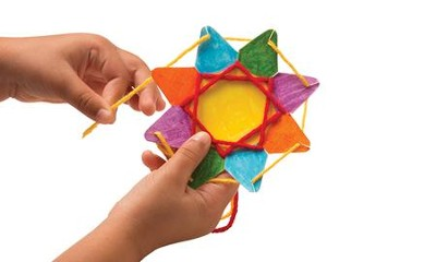 Stringing Shapes: Stars (Pack of 30 Stars)   -