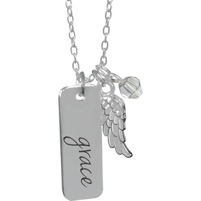 Guardian Angel Pendant, Grace  -