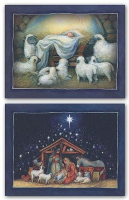 Nativity, Assorted Christmas Cards, Box of 18  -     By: Susan Winget