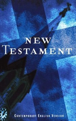 Outreach New Testament-Cev, Paper, Blue  -     By: American Bible Society