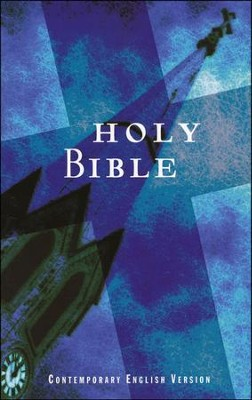 CEV Economical Bible, Paper, Blue   -