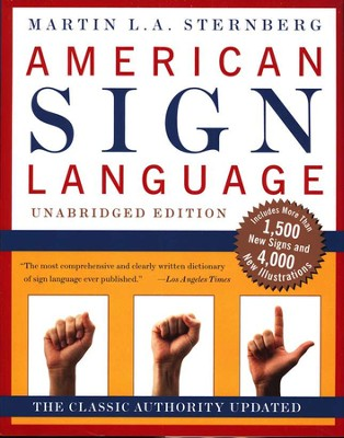 American Sign Language: A Comprehensive Dictionary   -     By: Martin Sternberg