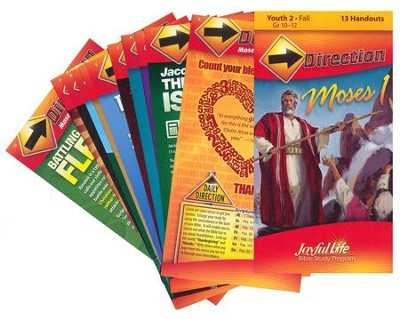Moses I Youth 2 (Grades 10-12) Direction (Student Handout)  -