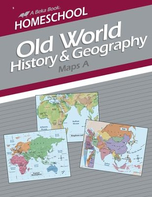 Abeka Homeschool Old World History & Geography Maps A   -