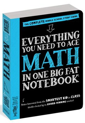 Everything You Need to Ace Math in One Big Fat Notebook  -     By: Altair Peterson