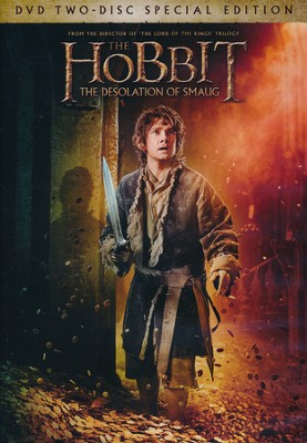 The Hobbit: The Desolation of Smaug, DVD   -
